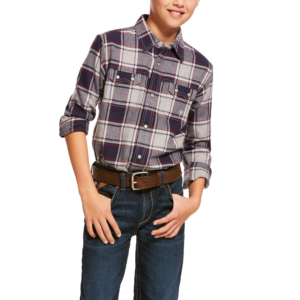 Ariat Boys LS- Multi Snap