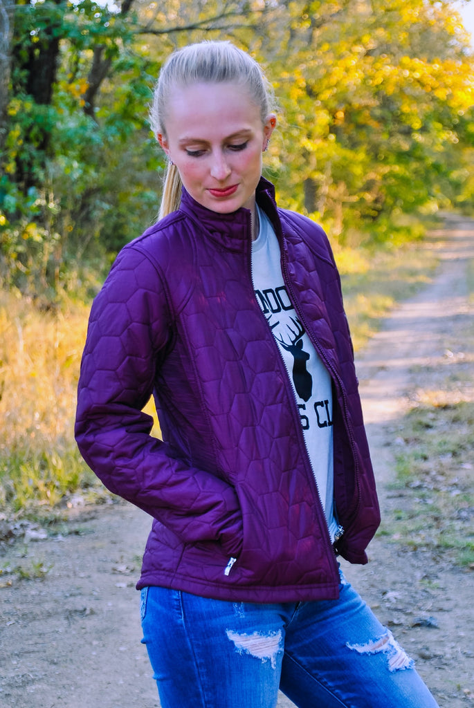Ariat Volt Jacket- Grapewine