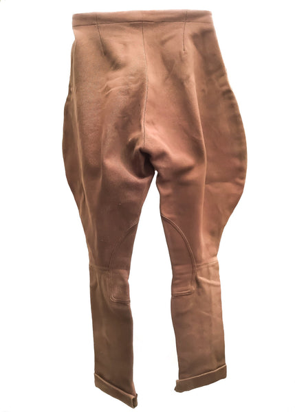 1950s Women's Vintage Pytchley Elephant Ear Riding Jodhpurs Breeches