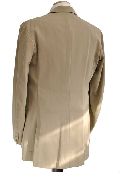 Rare 1910s Men's Lightweight Gabardine Sack Jacket