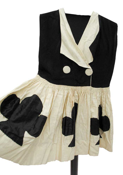 antique 20s 30s childs halloween costume
