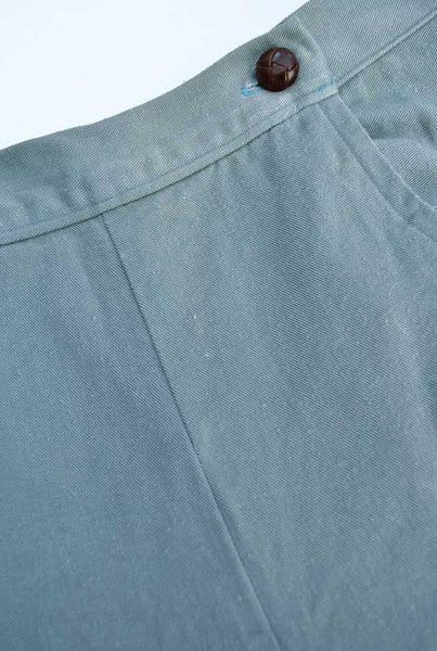 Vintage 1940s Air Force Blue Sailor Front Shorts • Hand Made
