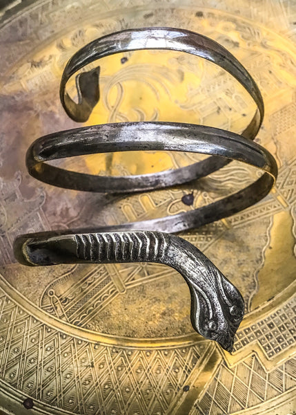 Buy 1920s flapper egyptian style cobra snake bracelet