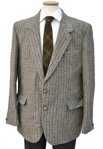 men's vintage harris tweed jacket