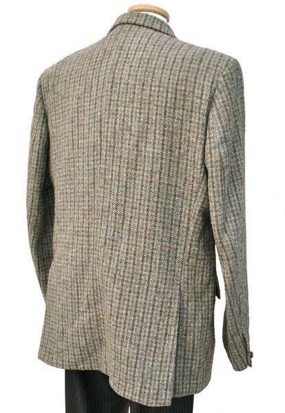 vintage 46R harris tweed jacket by dunn & co