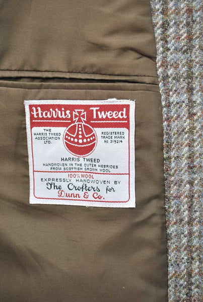 vintage 60s harris tweed blazer