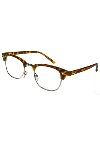 Retro 50s Style Tortoiseshell Reading Glasses