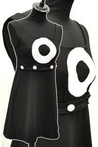 vintage 60s go-go micro mini dress