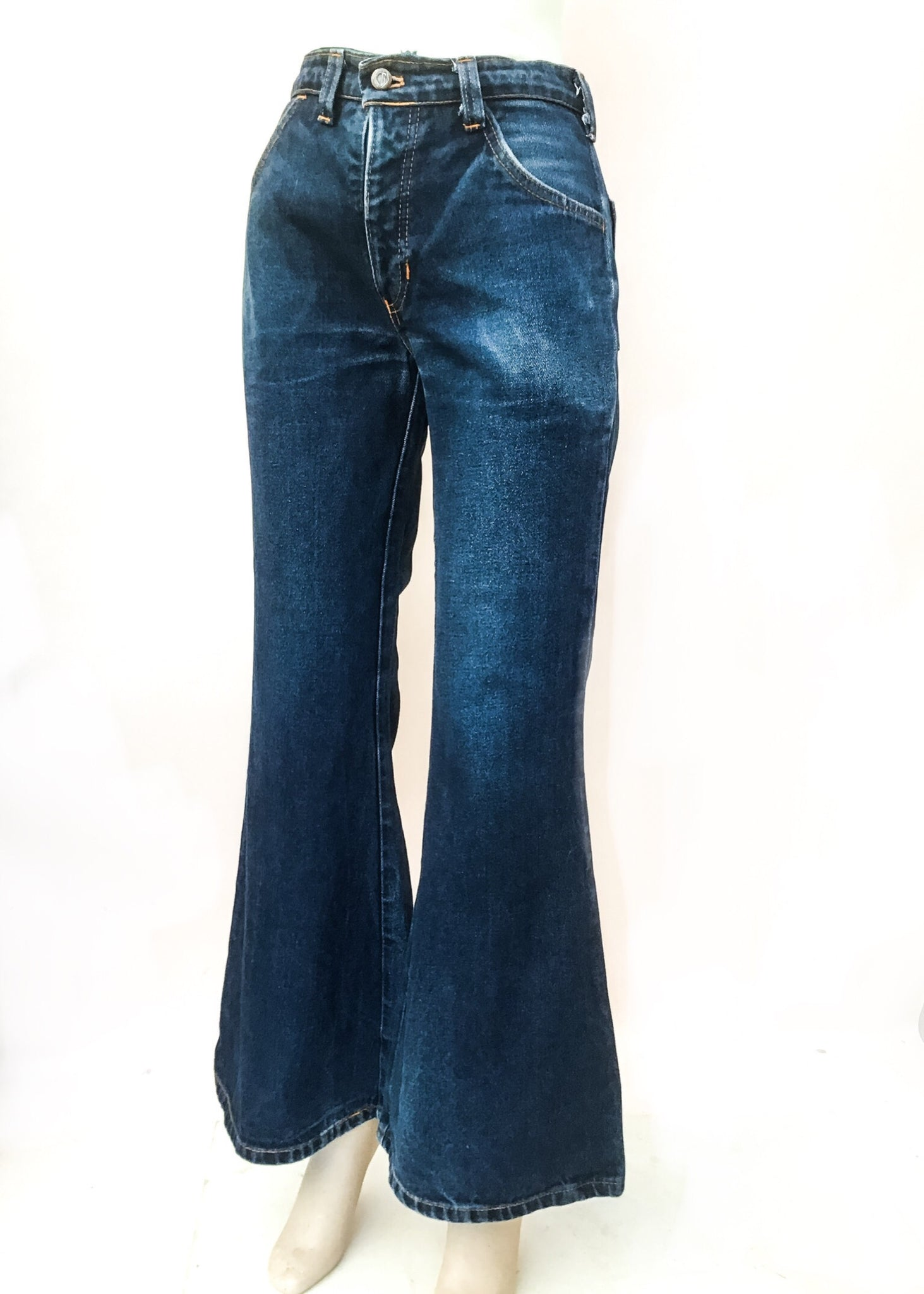 Vintage hippie bell bottom flared jeans 30 waist