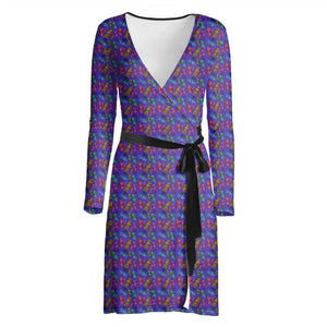 Mortal & Wild Betsy Beetle Wrap Dress