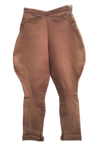 Vintage riding jodhpurs, great for equestrian and revival events or land girl costume.