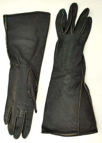 vintage gauntlet gloves