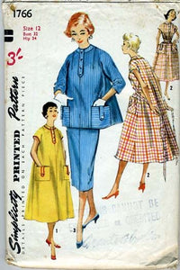 Simplicity 1766 1950s maternity pattern