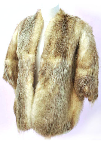 1950s Vintage Lush Norwegian Fox Fur Stole • Red Carpet • Bridal • Wedding