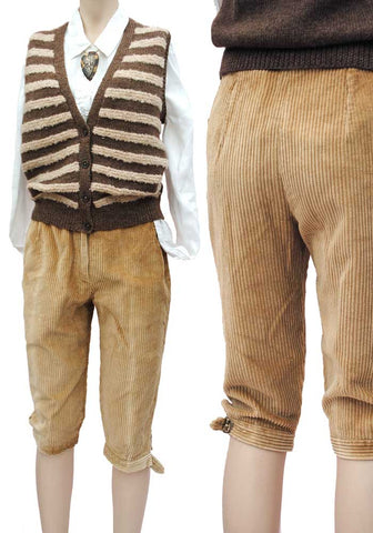 vintage land girl cord breeches