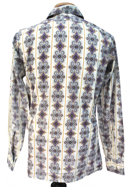 vintage 70s psychedelic shirt by Ben Sherman
