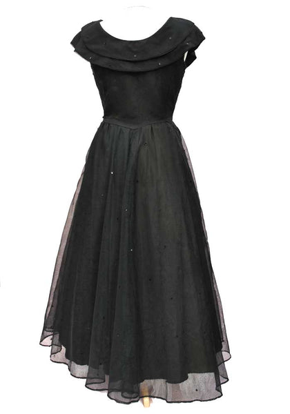 1950s halloween ball gown