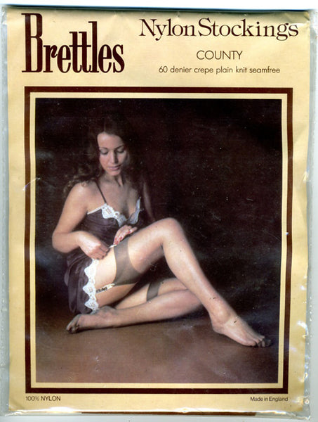 1970s Brettles Nylon Stockings, County