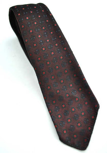 Vintage 60s Burgundy Tie • Strange of London