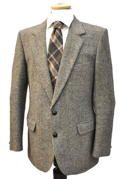 "Men's Vintage Heavyweight Tweed Jacket 38""/40"" • Burton"