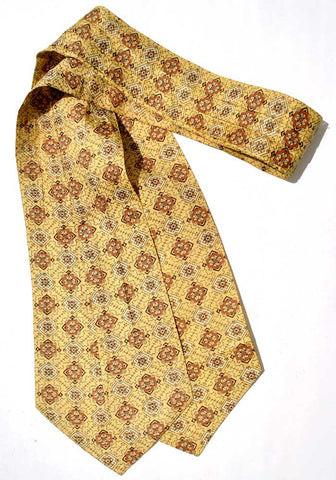 vintage Yellow cravat