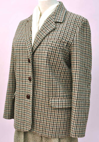 Women's Vintage Tweed Jacket • Dorothy Perkins • Size 12