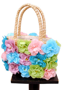 rockabilly flower bag, perfect for VLV fun in the sun