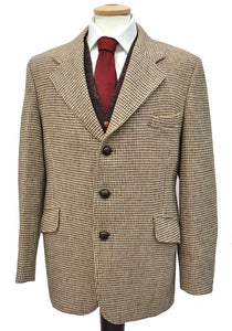 vintage harris tweed sports jacket by gurtex