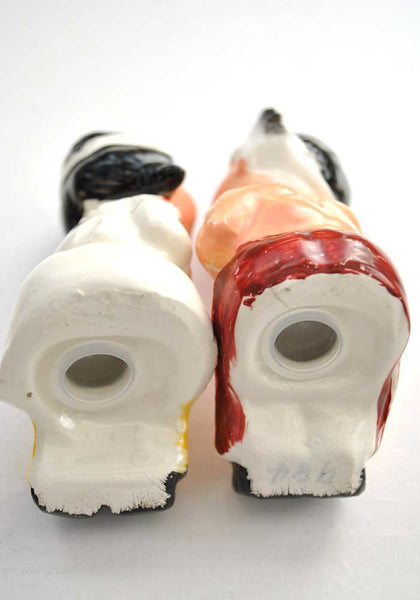 Vintage Van Tellingen Kissing Native American Salt and Pepper Shakers