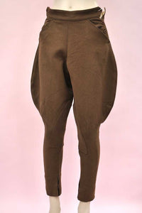 Women's Vintage Elephant Ear Riding Jodphurs Breeches by Renibarg