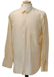1940s cream silk shirt, treasure of siam