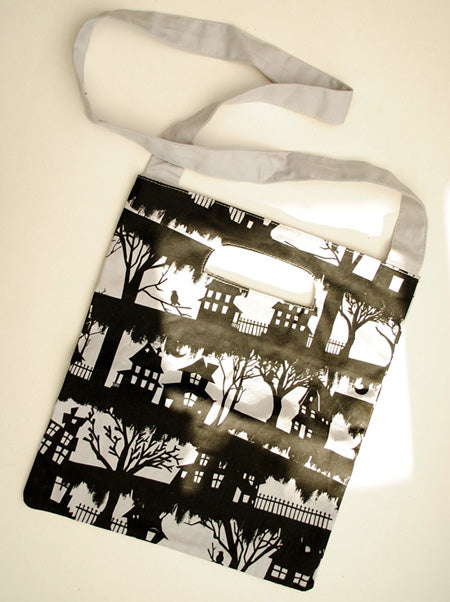 Spooky Topshop Halloween Canvas shopping tote bag