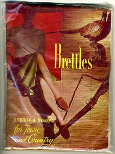 1970s Vintage Brettles Town & Country Nylon Stockings