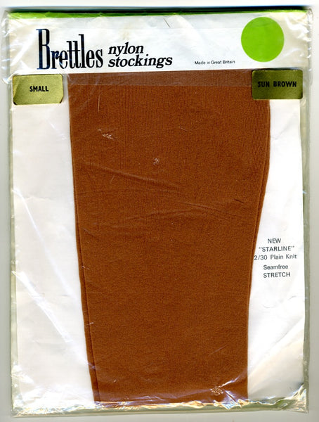 1970s Vintage Nylon Stockings Brettles New Starline