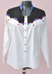 womens rockabilly western shirt