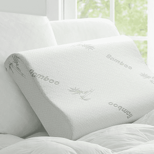 Bamboo Orthopedic Pillow With Memory Foam