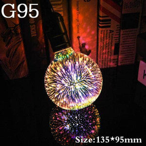 3D Fireworks LED Light Bulb
