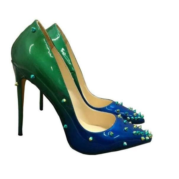 Columbine - green and blue / 4 - Shoes