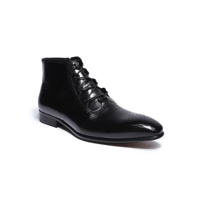 Ermin - Black / 10 - Mans Shoes