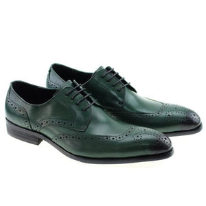 Firmin - Green / 7 - Mans Shoes