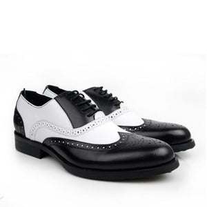 Gangster - Black White / 5 - Mans Shoes