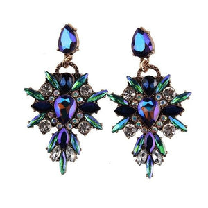 Lady diamond - Crystal Colorful - Earrings