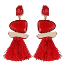 Lady smile - Red - Earrings