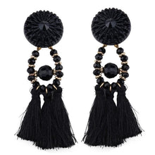 Lady vamp - Black - Earrings