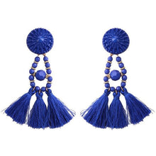 Lady vamp - Blue - Earrings