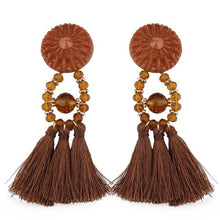 Lady vamp - Brown - Earrings
