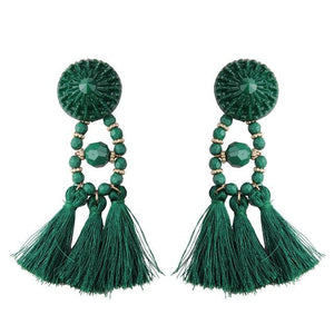 Lady vamp - Green - Earrings