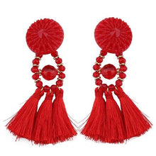 Lady vamp - Red - Earrings
