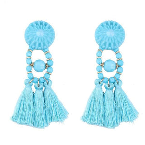 Lady vamp - Sky Blue - Earrings