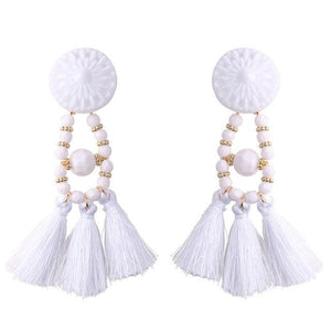 Lady vamp - White - Earrings